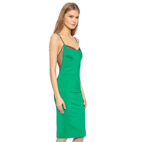 6d9cfcb590fb Noah Hanoch Dresses | Guinevere Slip Dress In Hunter Green | Poshmark